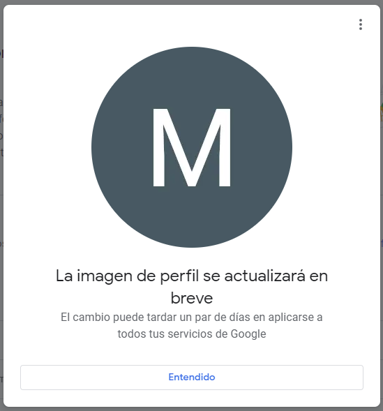 Quitar mi foto de Google - Paso 7